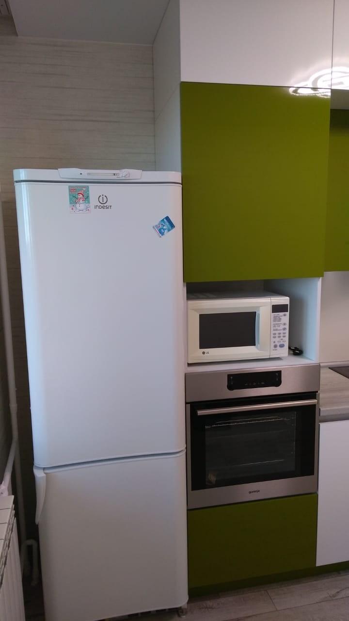 Белый кухонный гарнитур-Кухня из пластика «Модель 572»-фото12