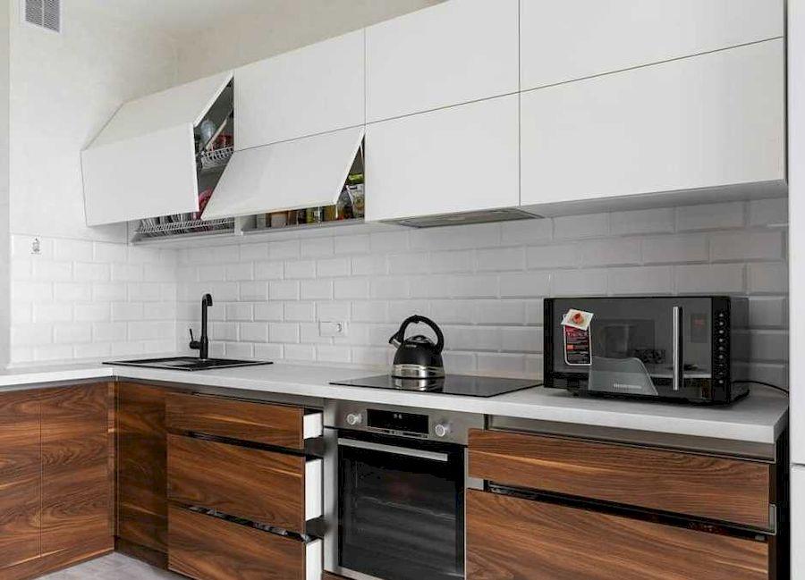 Купить кухню-Кухня из пластика «Модель 635»-фото3