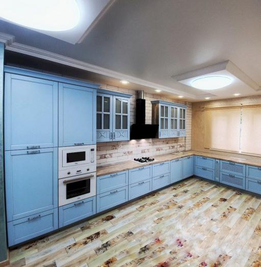 -Кухня МДФ в эмали «Модель 524»-фото16