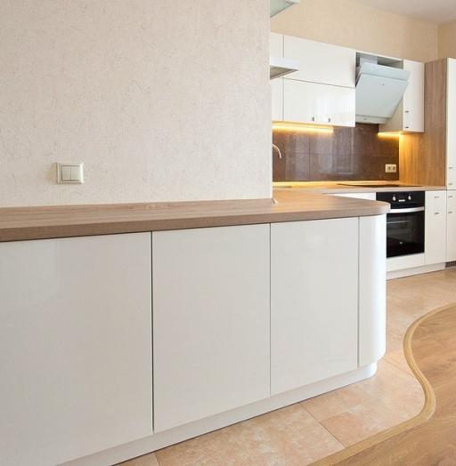 -Кухня МДФ в эмали «Модель 619»-фото14